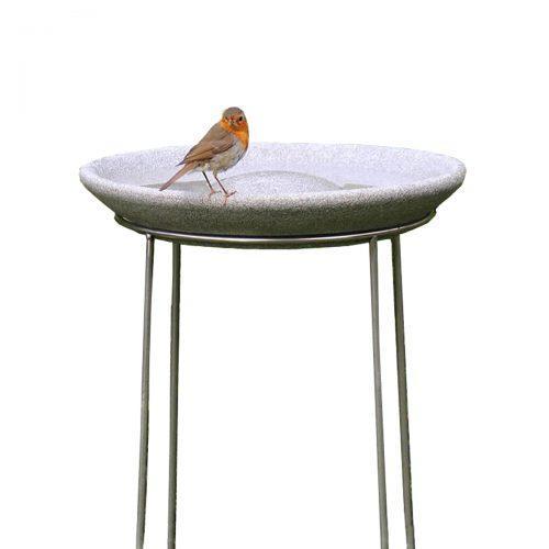 Vogeltränke Granicium mit Edelstahlständer